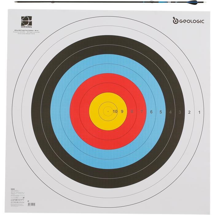 Blazoen boogschieten 80x80cm - 1043907