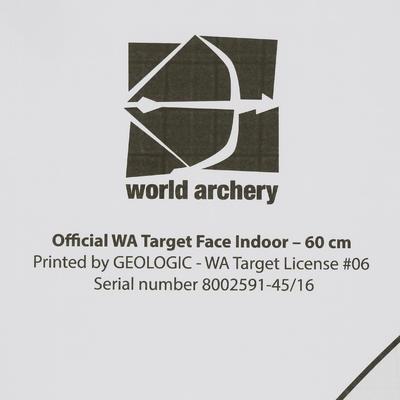 ស៊ីប ARCHERY FACE 60 X 60 CM