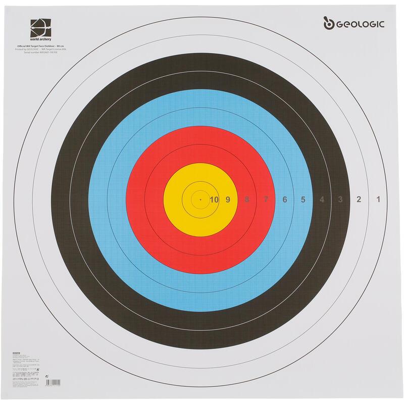 Archery Target Face 80x80CM