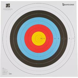 Zielscheiben-Auflage 80x80 cm