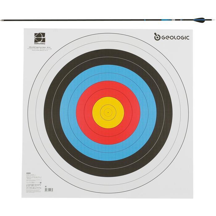 Schietschijf voor boogschieten, 60 x 60 cm - 1043932