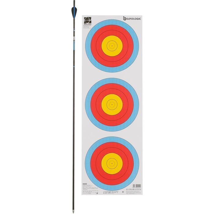 Blazoen voor boogschieten tri-spot universeel 40 cm - 1043933