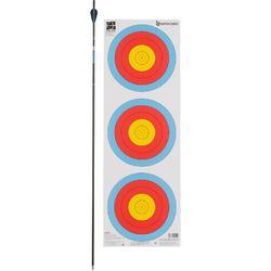 Blazoen voor boogschieten tri-spot universeel 40 cm