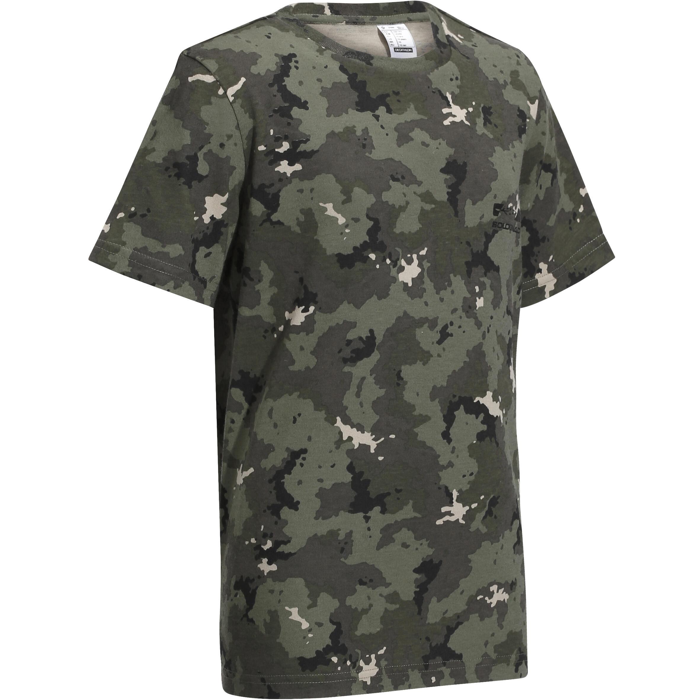 Tricou Vânătoare 100 Copii