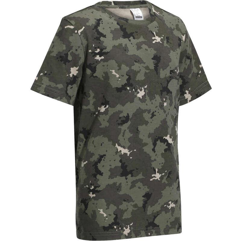 Jagdbekleidung Kinder Jagd und Sportschiessen - T-Shirt 100 Kinder SOLOGNAC - Jagdbekleidung