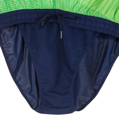 Boardshort long homme bidarte filter vert