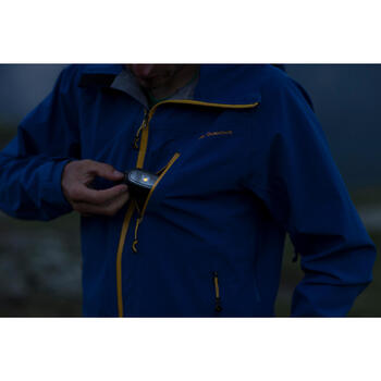 野營健行頭燈ONNIGHT 100 30流明(電池款)-黑色