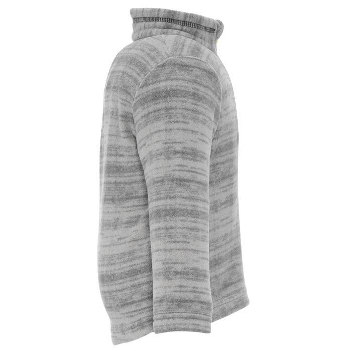 兒童款健行刷毛外套MH120-深灰色
