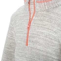 兒童款健行刷毛立領上衣NH120-灰色