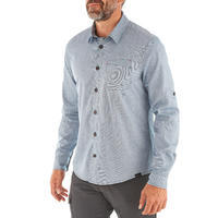 TRAVEL 100 Warm Men's Shirt - Blue
