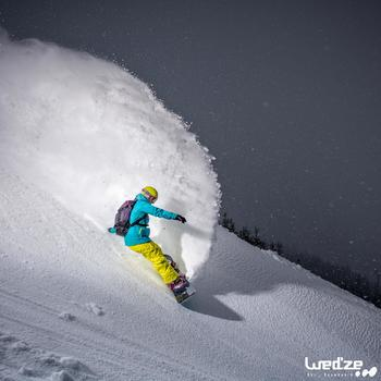 MASQUE DE SKI ET DE SNOWBOARD HOMME BONES 500 BEAU TEMPS GRIS-18 - 1045109