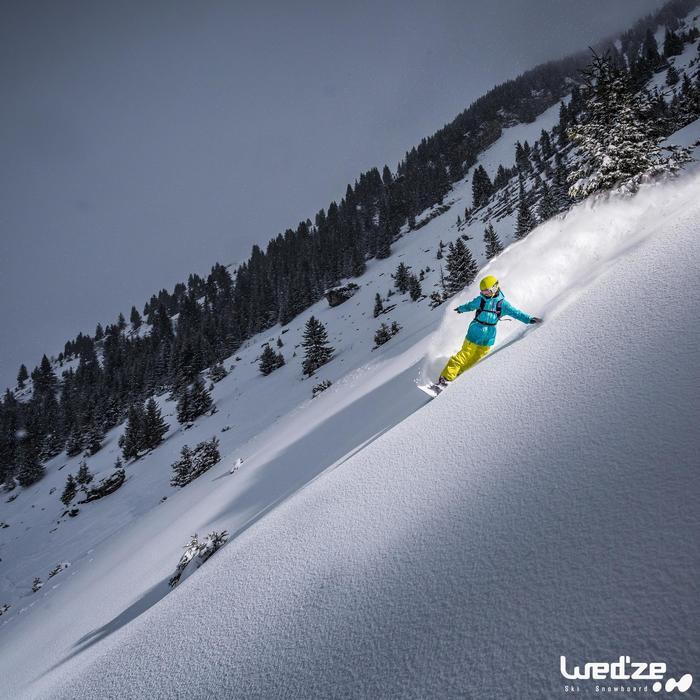 MASQUE DE SKI ET DE SNOWBOARD HOMME BONES 500 BEAU TEMPS GRIS-18 - 1045110