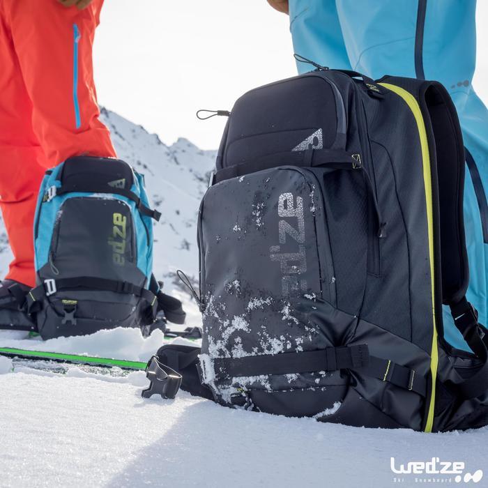 Sac à dos de ski Freeride adulte reverse defense 700 noir - 1045120
