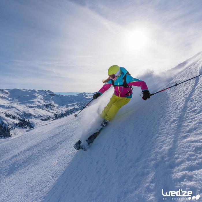 Gants de ski femme FREE 500 noirs - 1045121