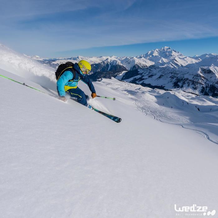 MASQUE DE SKI ET DE SNOWBOARD HOMME BONES 500 BEAU TEMPS GRIS-18 - 1045124
