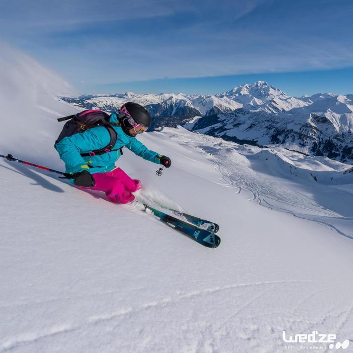 Veste de ski freeride femme free 900 - 1045126