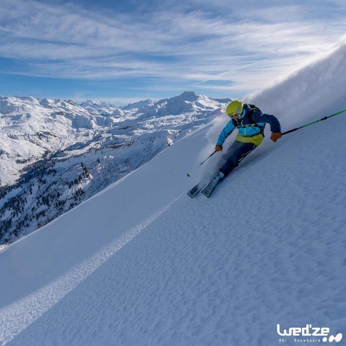 MASQUE DE SKI ET DE SNOWBOARD HOMME BONES 500 BEAU TEMPS GRIS-18 - 1045136