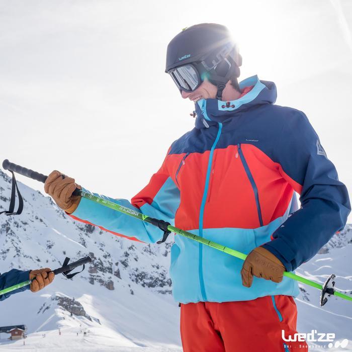 Skihandschoenen Free 500 voor heren bruin - 1045138