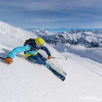 MASQUE DE SKI ET DE SNOWBOARD HOMME BONES 500 BEAU TEMPS GRIS-18 - 1045139