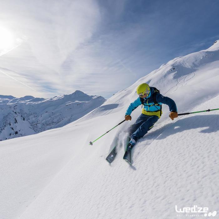 Pantalon de ski freeride homme free 700 petrole - 1045144