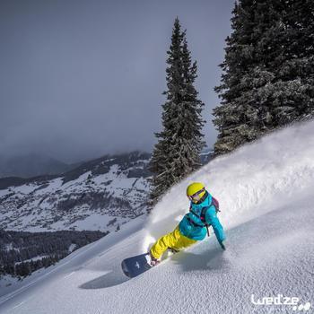 MASQUE DE SKI ET DE SNOWBOARD HOMME BONES 500 BEAU TEMPS GRIS-18 - 1045149