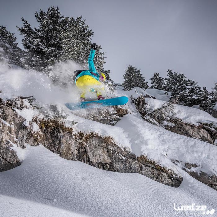MASQUE DE SKI ET DE SNOWBOARD HOMME BONES 500 BEAU TEMPS GRIS-18 - 1045151