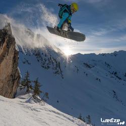 Pack snowboard all mountain heren Bullwhip 500 All Road grijs en geel - 1045153