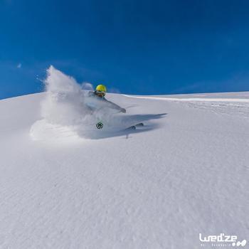 MASQUE DE SKI ET DE SNOWBOARD HOMME BONES 500 BEAU TEMPS GRIS-18 - 1045155