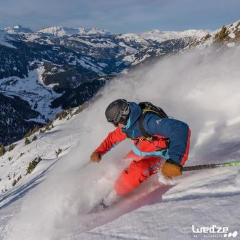 Skihandschoenen Free 500 voor heren bruin - 1045157