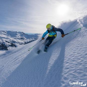 MASQUE DE SKI ET DE SNOWBOARD HOMME BONES 500 BEAU TEMPS GRIS-18 - 1045159