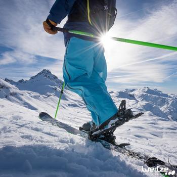 Skihandschoenen Free 500 voor heren bruin - 1045161
