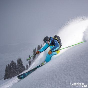 Skihandschoenen Free 500 voor heren bruin - 1045162