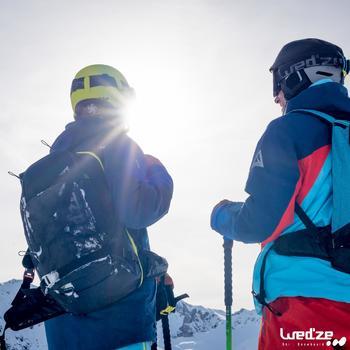 Skihandschoenen Free 500 voor heren bruin - 1045163