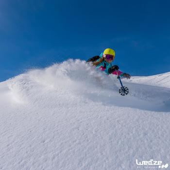 Gants de ski femme FREE 500 noirs - 1045165