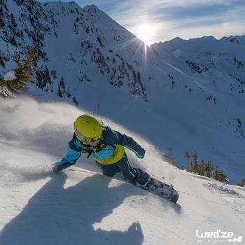 MASQUE DE SKI ET DE SNOWBOARD HOMME BONES 500 BEAU TEMPS GRIS-18 - 1045166