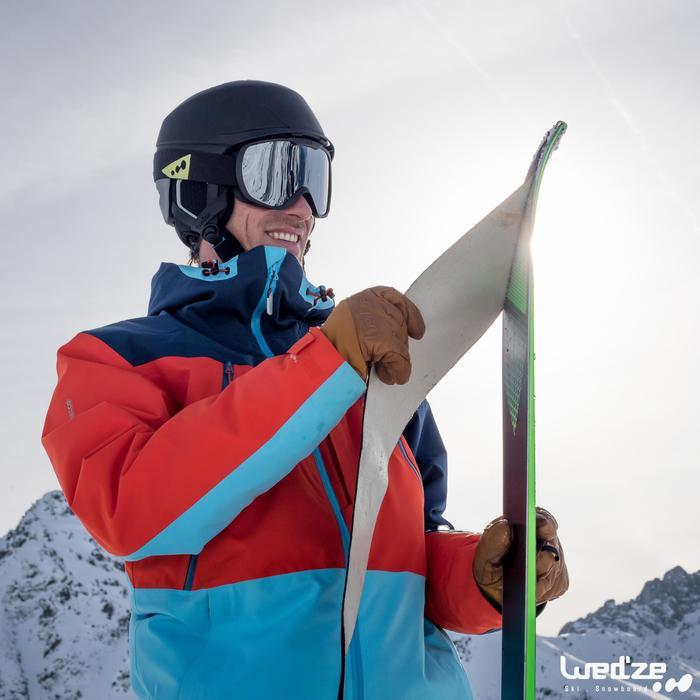 GAFAS DE ESQUÍ Y DE SNOWBOARD ADULTO Y NIÑO G 500 BUEN TIEMPO NEGRO