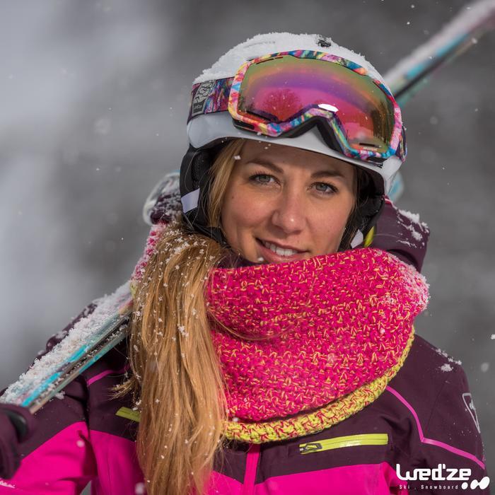 MASQUE DE SKI ET DE SNOWBOARD HOMME BONES 500 BEAU TEMPS GRIS-18 - 1045189