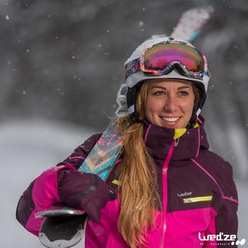 MASQUE DE SKI ET DE SNOWBOARD HOMME BONES 500 BEAU TEMPS GRIS-18 - 1045198