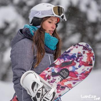 Ski snood Timeless zwart grijs
