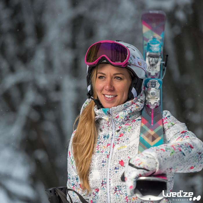 Veste ski femme Slide 500 WARM noire - 1045201