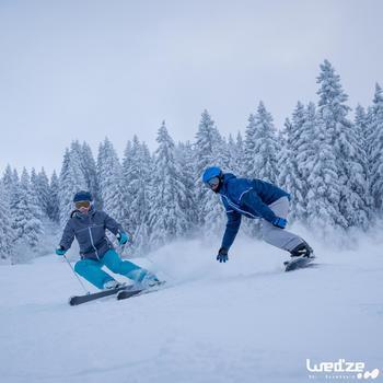 Veste ski femme Slide 300 grise - 1045216