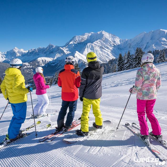 Skijacke Slide 300 Damen rosa