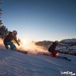 Skischoenen voor heren Mid 900 wit - 1045243