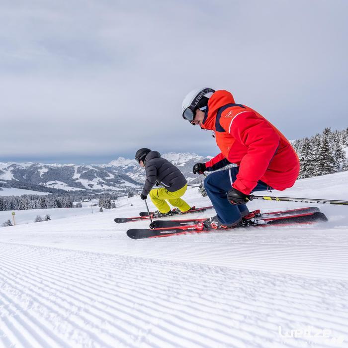 Skijacke 500 Warm Herren grau
