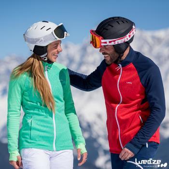 Sous-veste de ski Laine homme 500 Bleue - 1045251