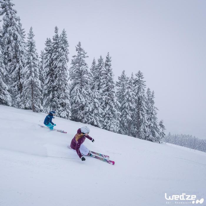 Veste ski femme Slide 300 grise - 1045253
