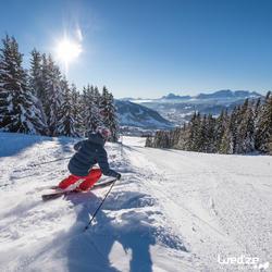 Skischoenen voor heren Mid 900 wit - 1045257