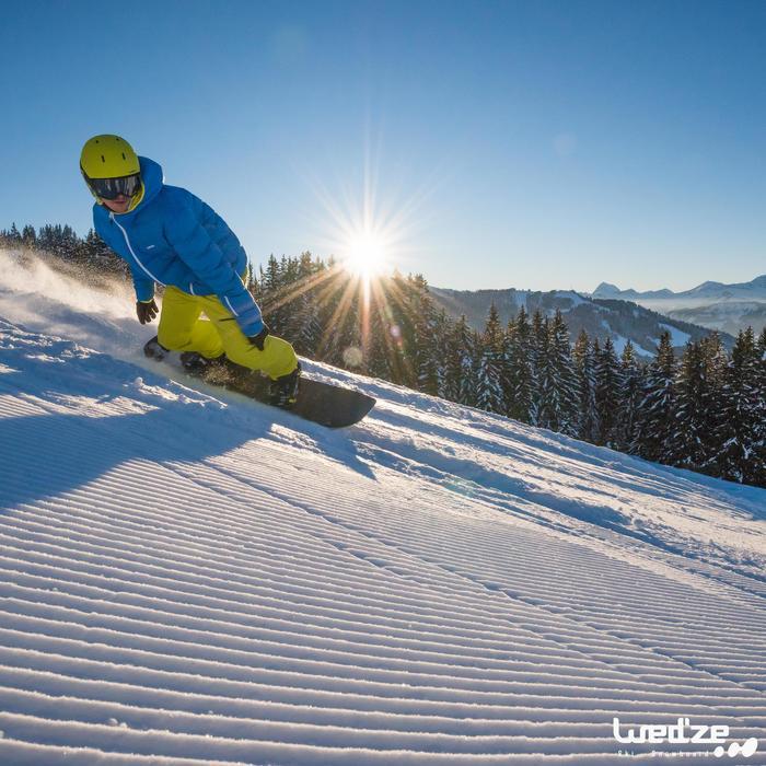 Snowboardbindingen heren en dames All Road 100 rood