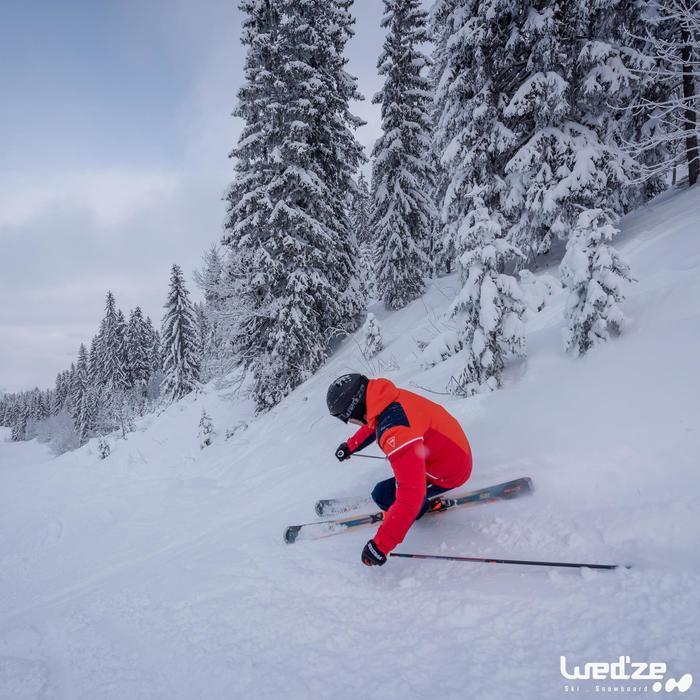 MASQUE DE SKI ET DE SNOWBOARD ADULTE ET ENFANT G 500 MAUVAIS TEMPS BLANC
