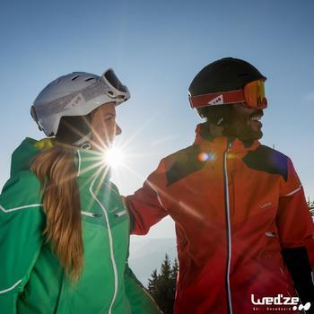 CASQUE DE SKI ET DE SNOWBOARD ADULTE H300 BLEU